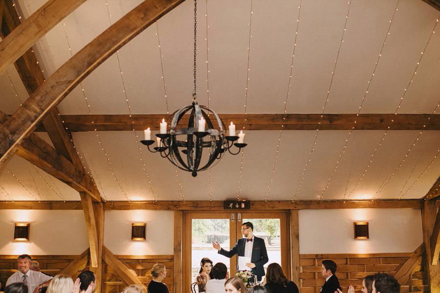 awesome barn wedding