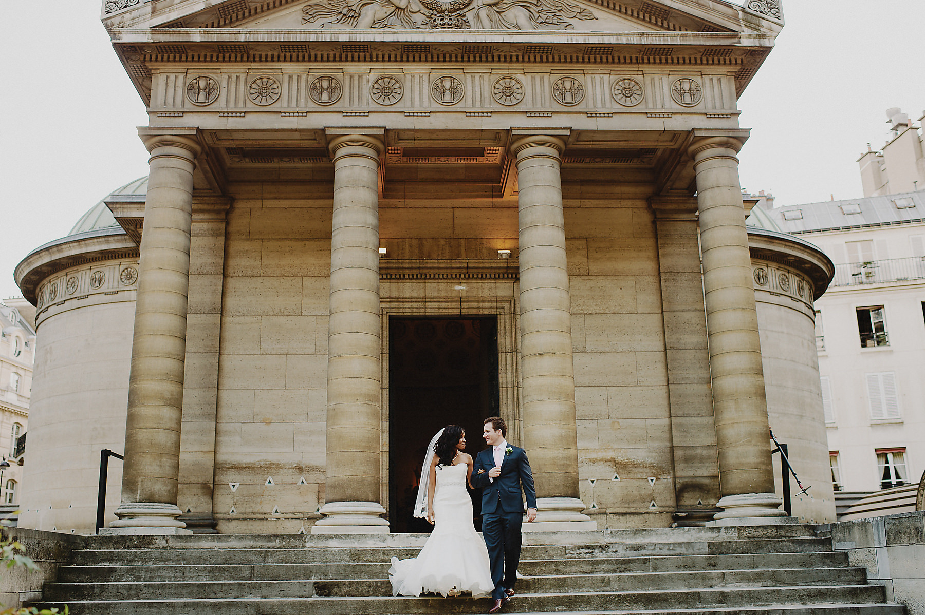 Arc de triumph wedding photographer