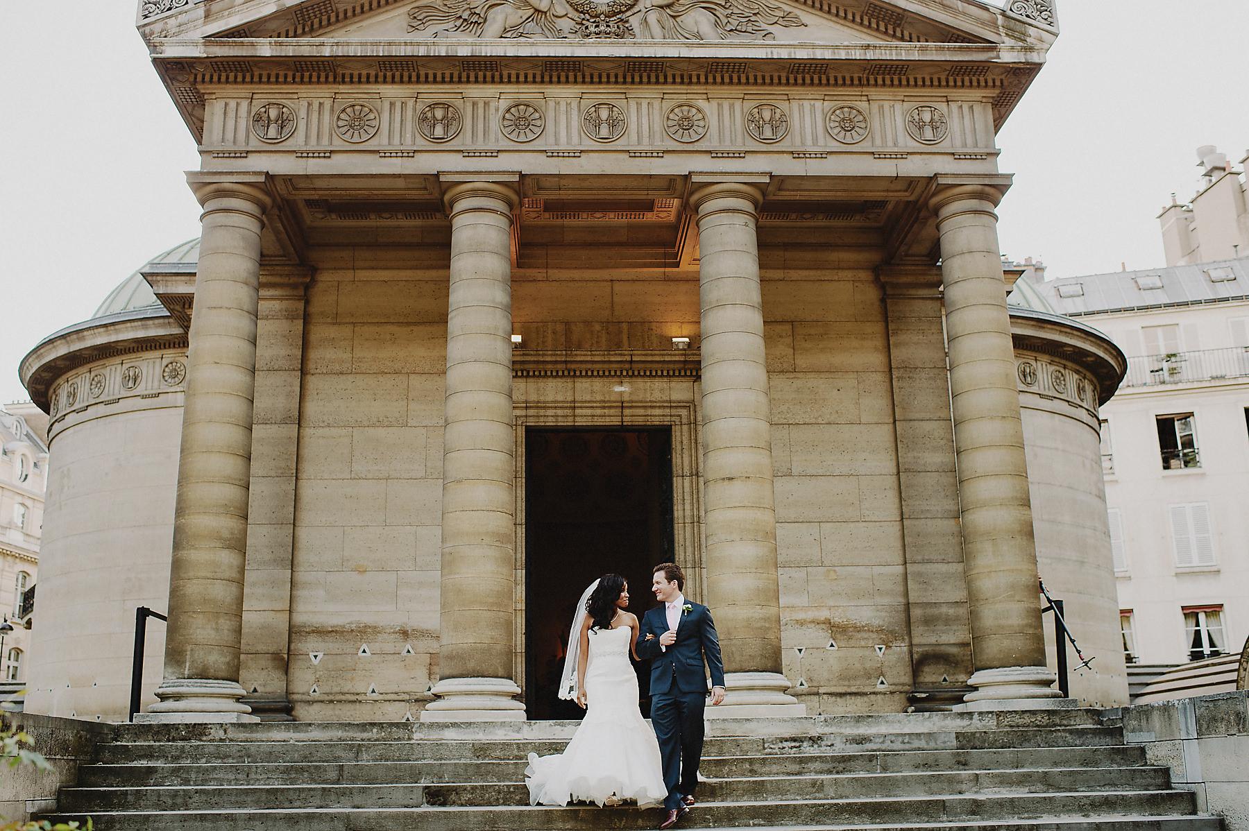 Arc de triumph wedding photographer