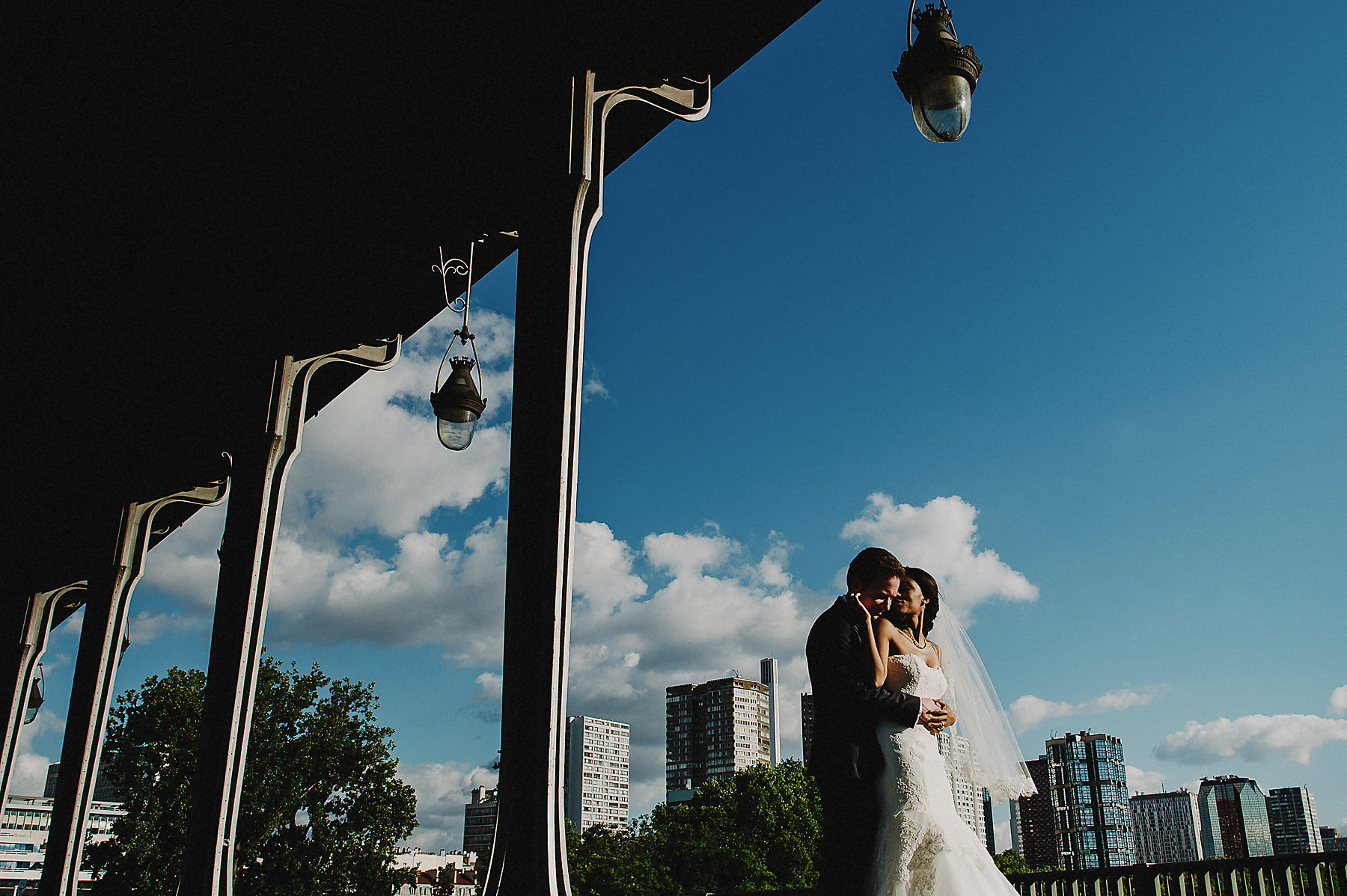 Arc de triomphe wedding