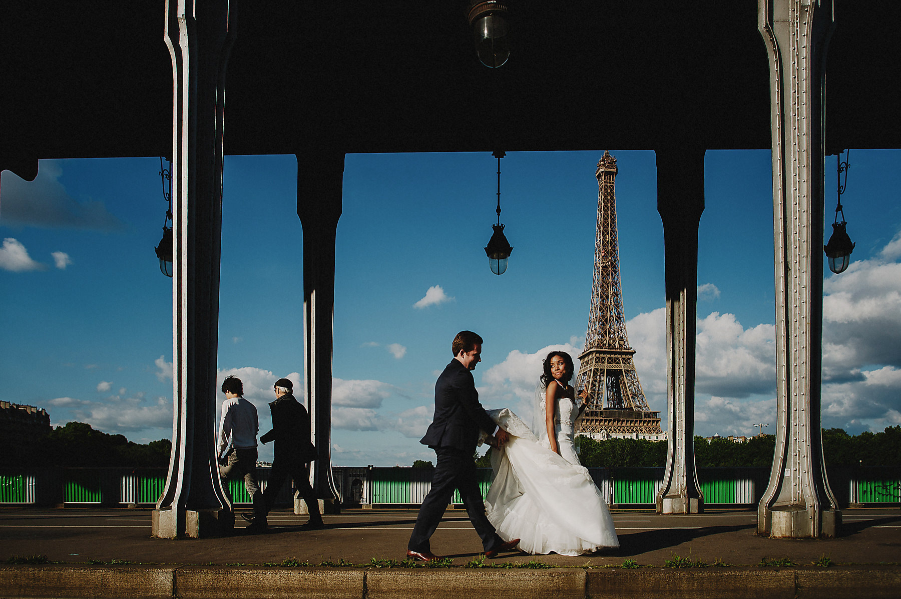 Arc de triomphe wedding