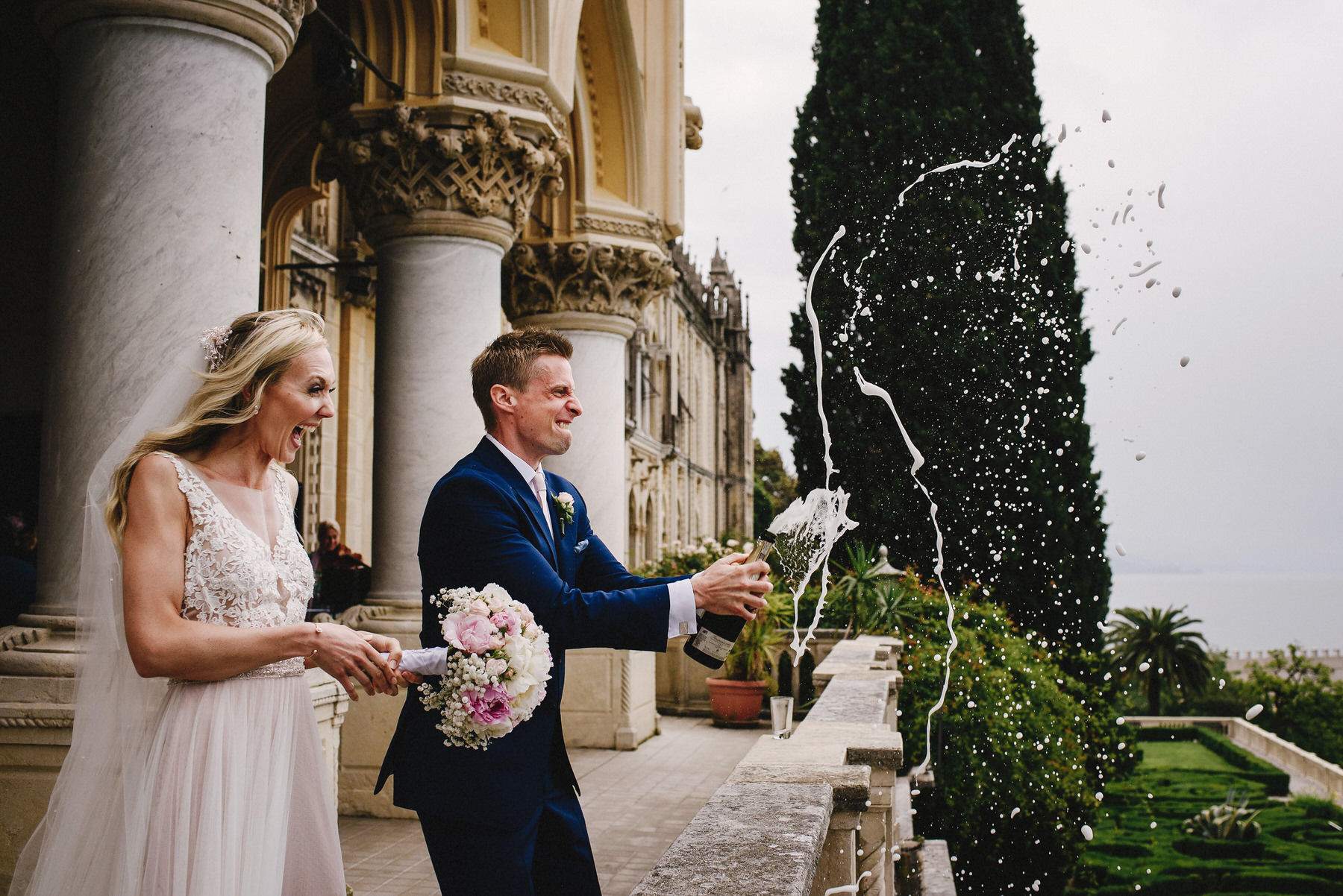 Lake Garda wedding photography