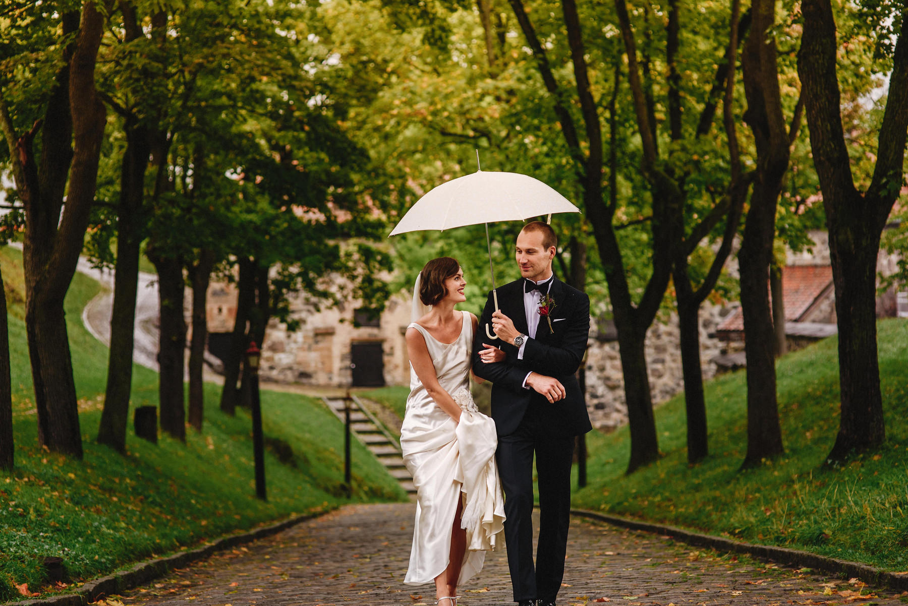 Akershus Festning Wedding Photographer