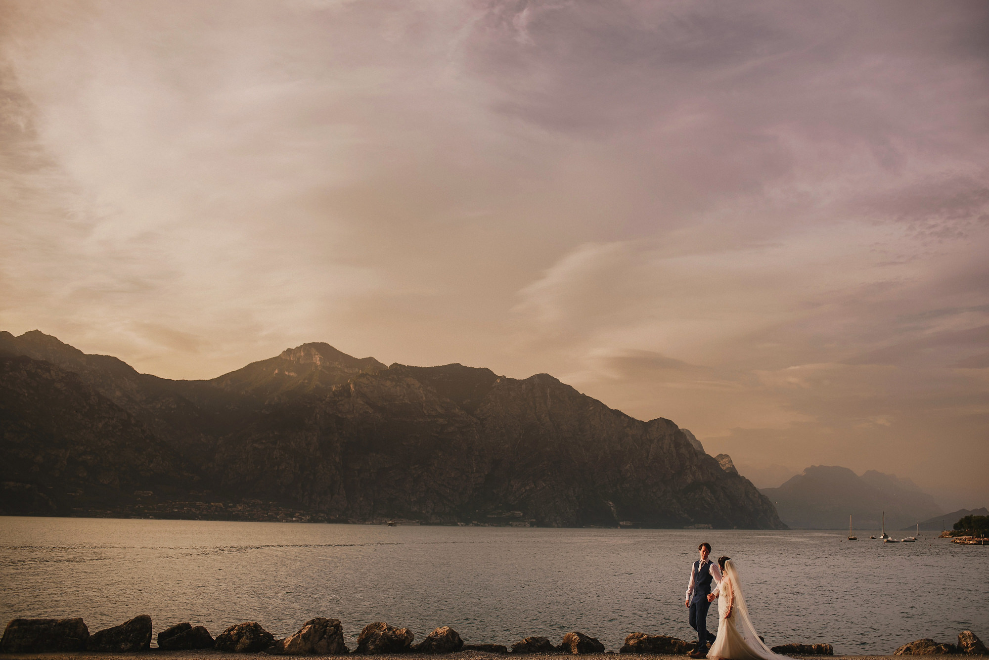Malcesine wedding photography