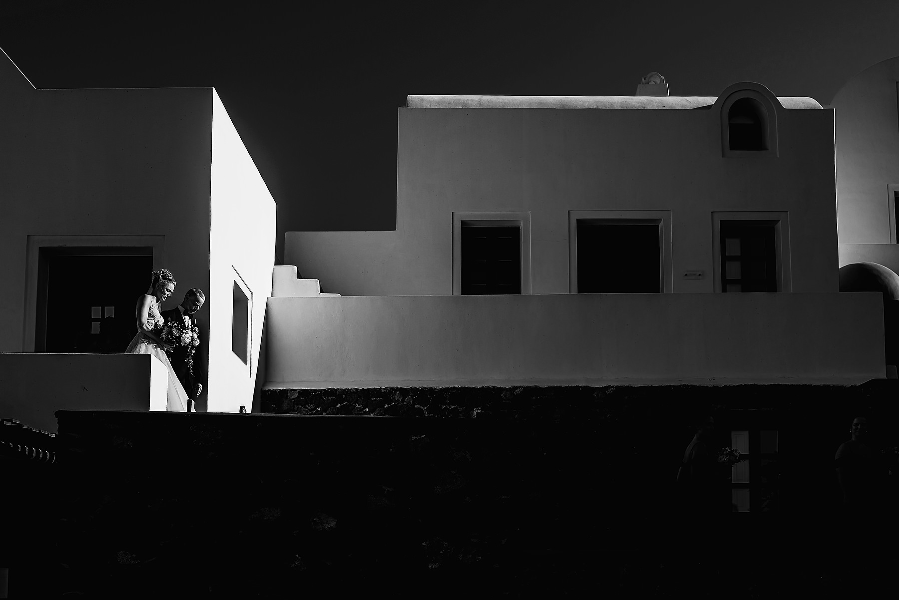 Aenaon Villas Santorini Wedding Photographer