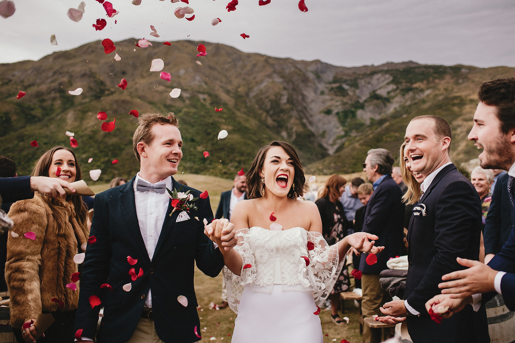 Peregrine Winery Wedding Photographer Queenstown