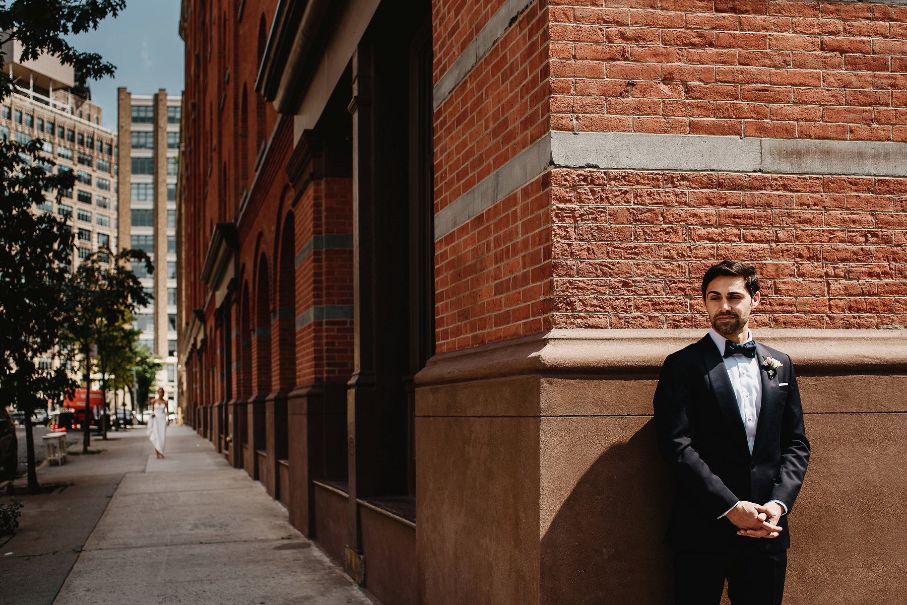 Tribeca Rooftop New York Wedding Photographer 01