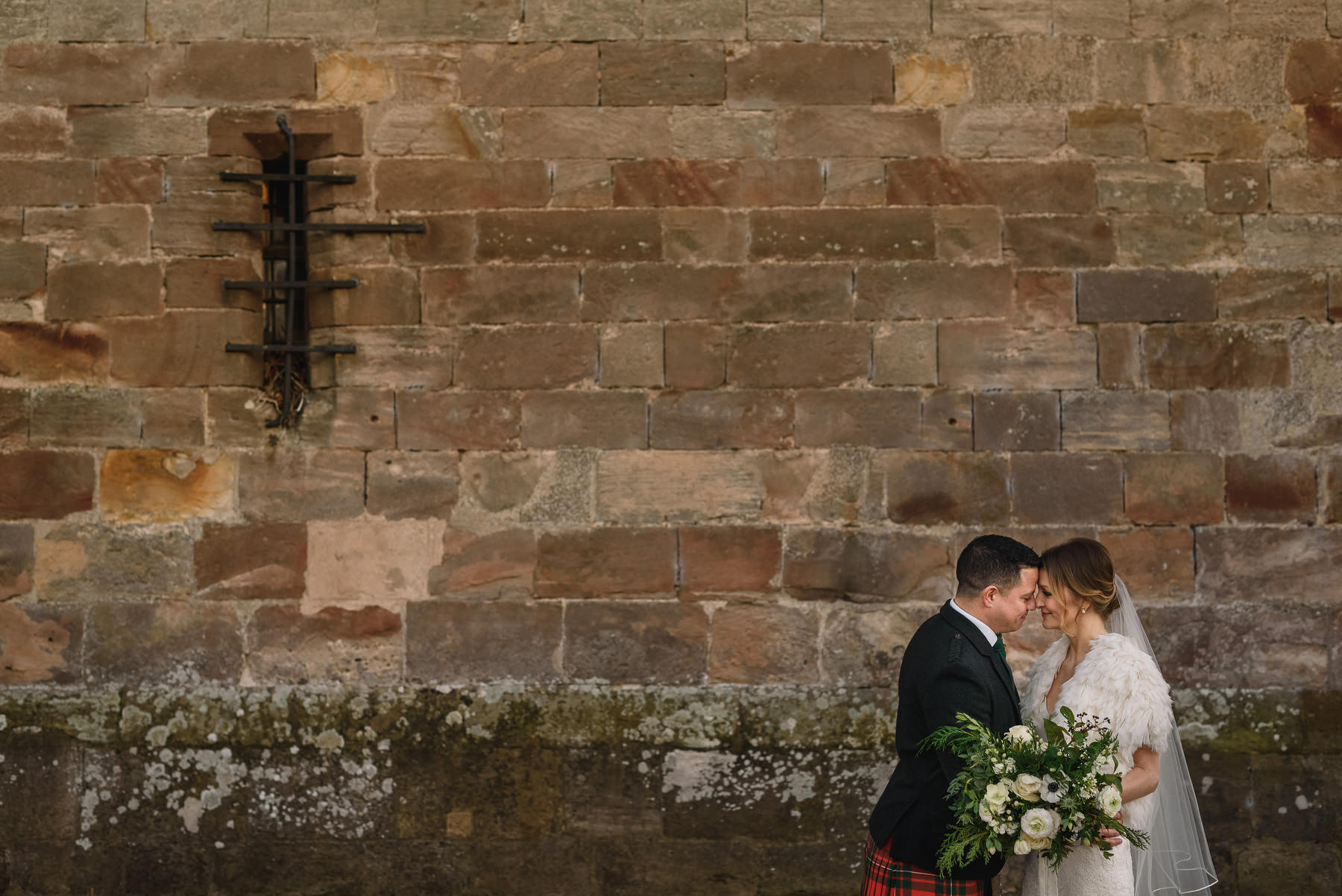 Christmas Wedding Borthwick Castle