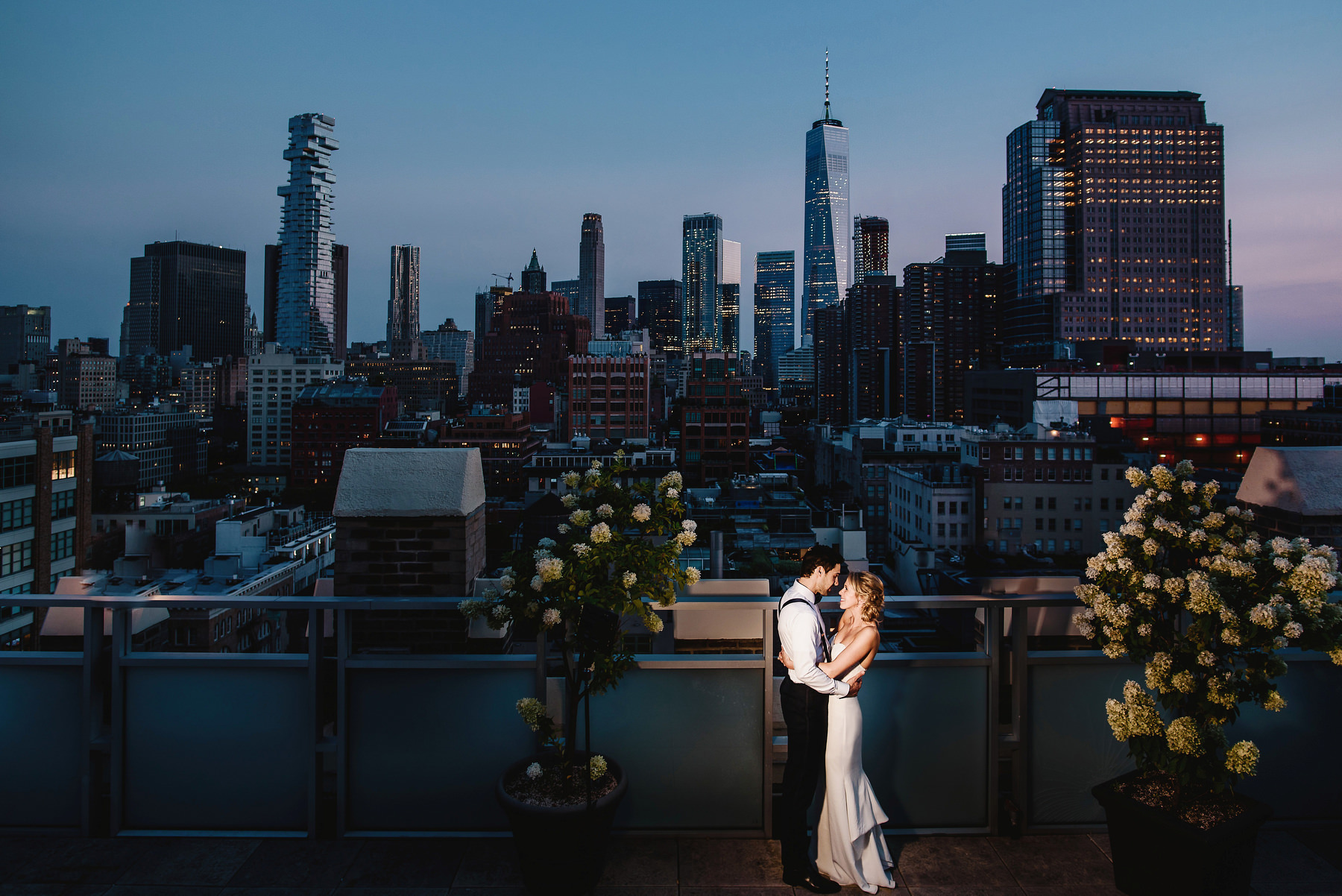 Tribeca Roof Top Wedding Photography
