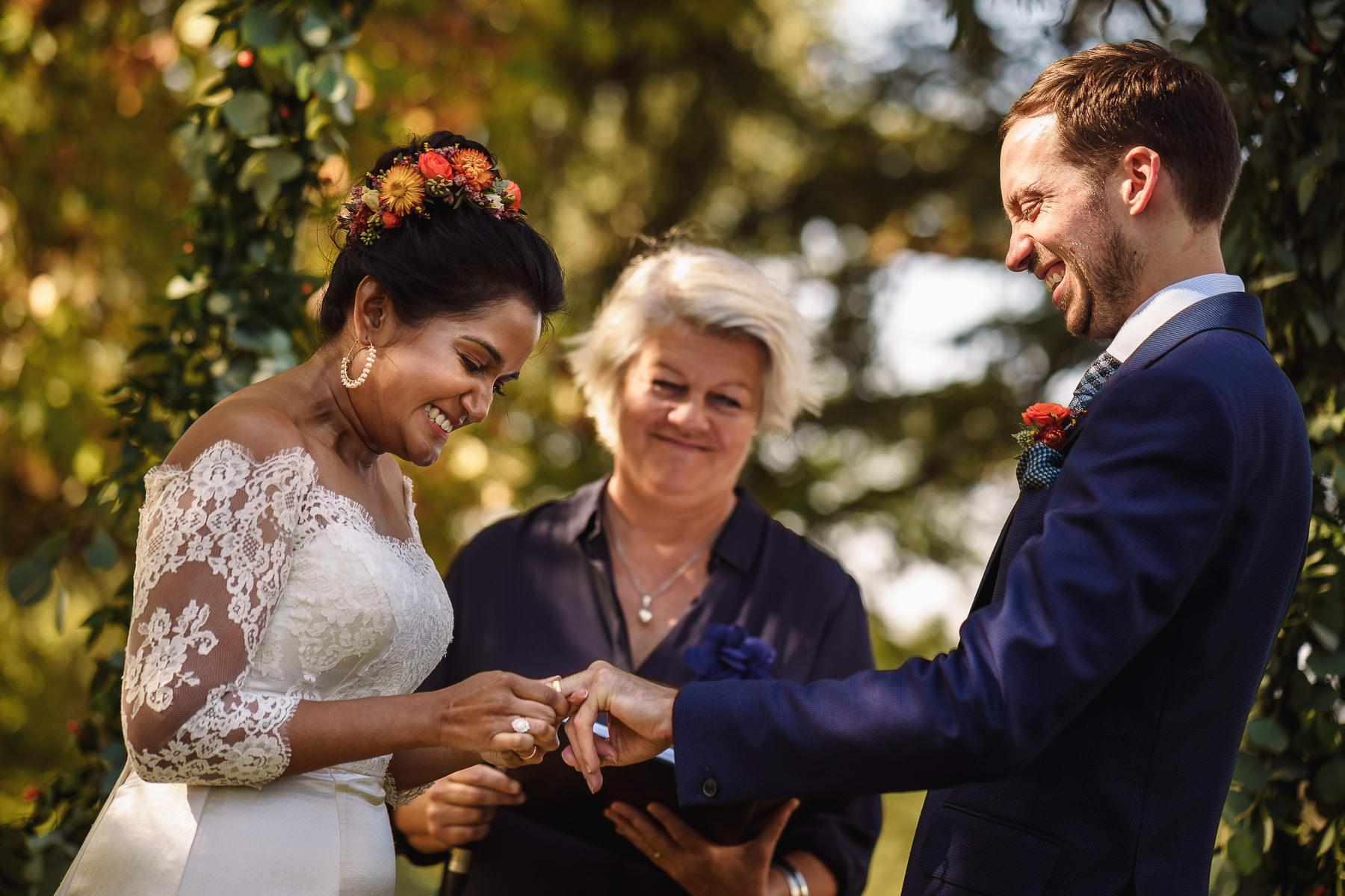ceremony Domaine La Fauconnie wedding