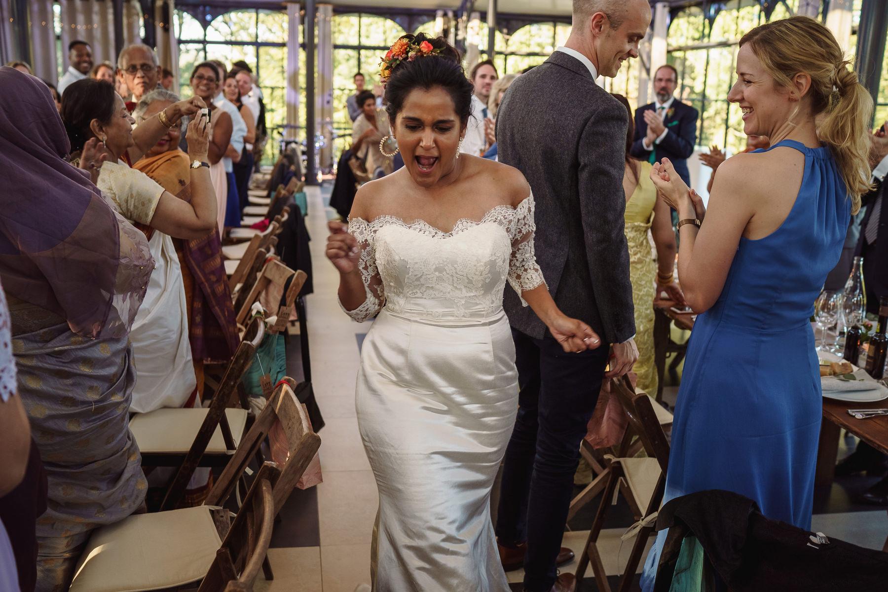 bride Domaine La Fauconnie wedding