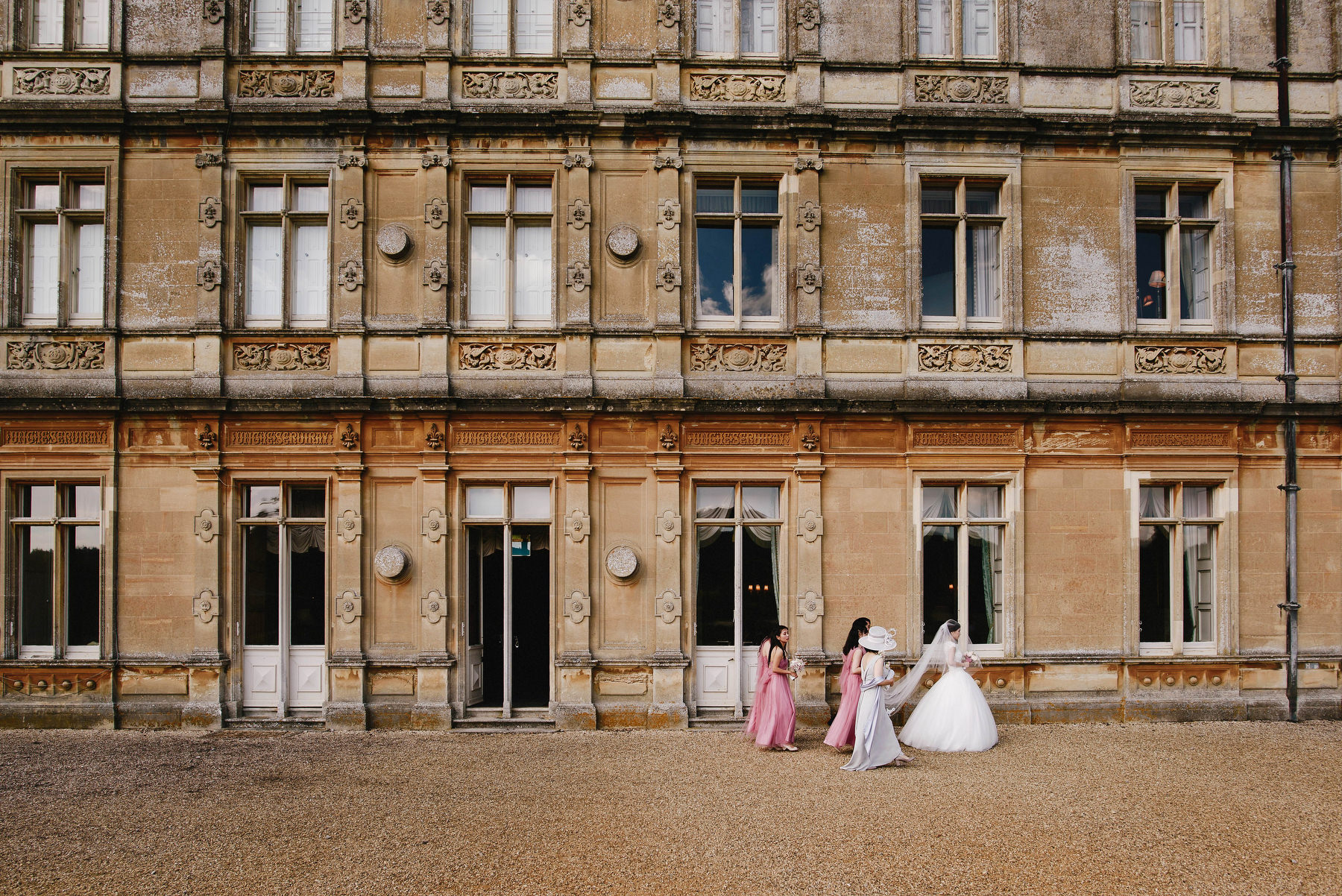 Downton Abbey Wedding bride