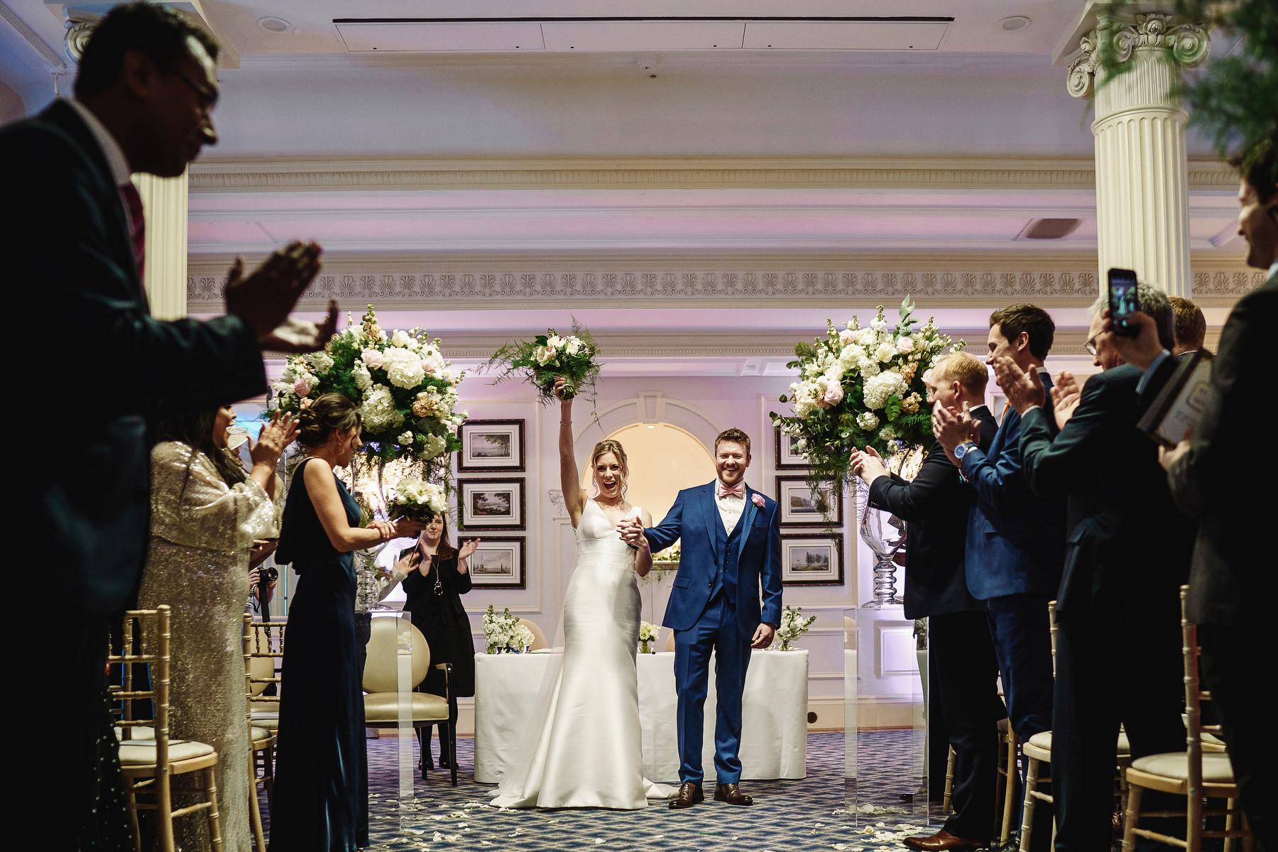 Savoy Hotel Wedding ceremony