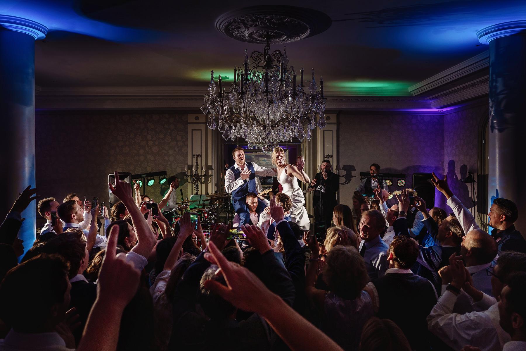 Savoy Hotel Wedding Photography dancefloor