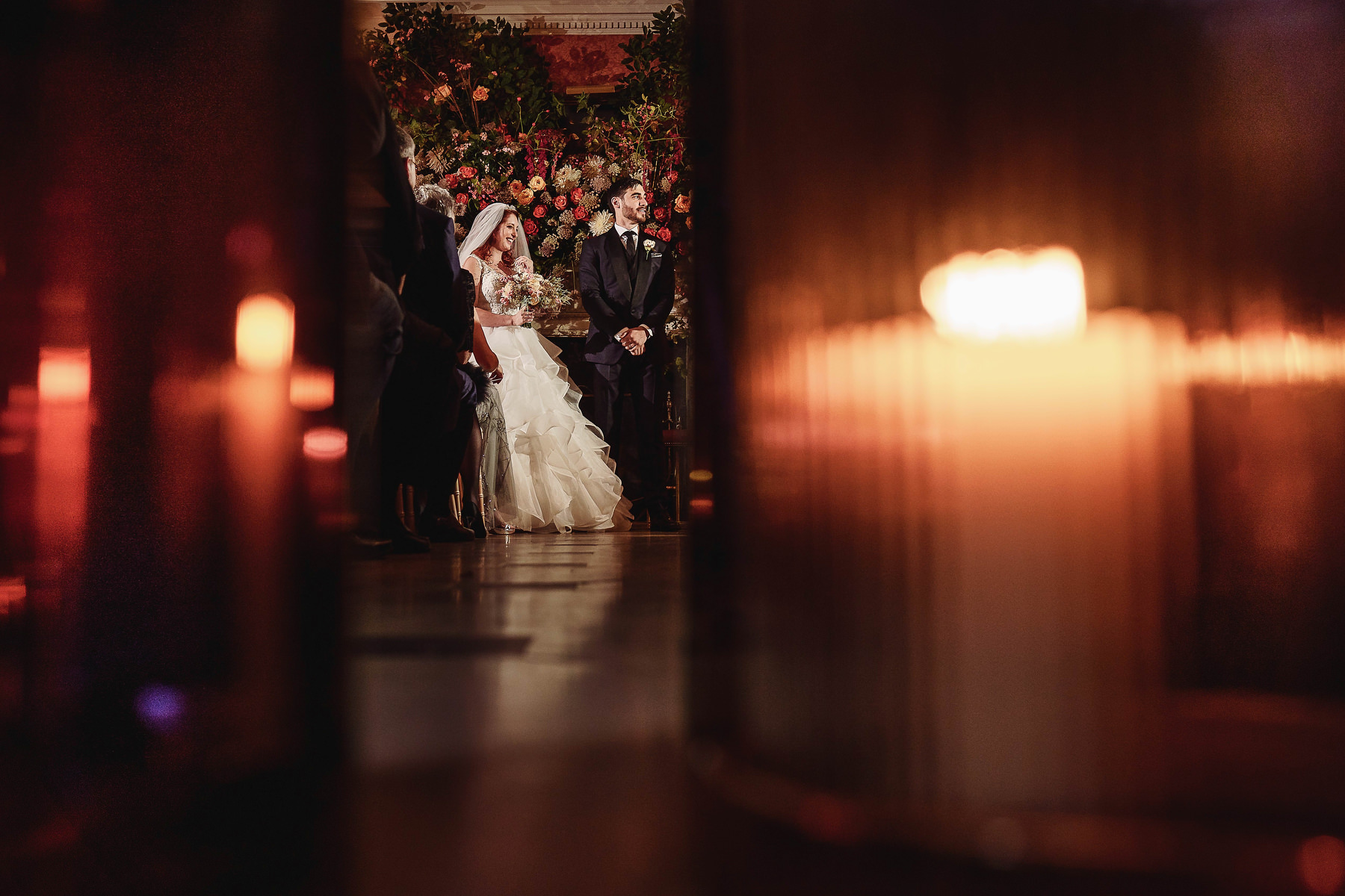 Searcys Wedding Photography ceremony